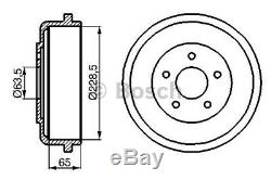 0986477129 BOSCH BRAKE DRUM (x2) DB203 BRAKING DRUMS BRAND NEW GENUINE PART