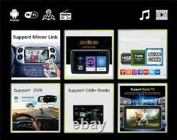10.1 Rotatable 2 Din Android 9.1 Car Wifi Stereo Radio Head Unit MP5 GPS Navi
