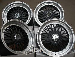 16 Black Rs Fits Ford B Max Escort Focus Ka Mondeo Puma Sierra Ka 4x108