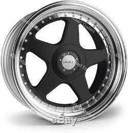 17 Black F5 Alloy Wheels Fit Ford B max Cortina Courier Ecosport Escort 4x108