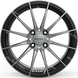 17 Force 4 Alloy Wheels Fit Ford B max Cortina Courier Ecosport Escort 4x108