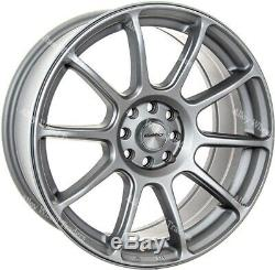 17 Silver Neo Alloy Wheels Ford B max Cortina Courier Ecosport Escort 4x108