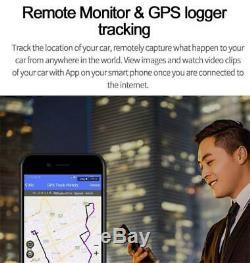 2-Lens 12'' Android GPS Car DVR Dash Camera 4G WiFi ADAS Rearview Mirror 2G+32G