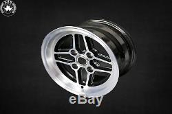 4x Alloy Rim Rs Style 7x13 et 5 for Ford Escort MK1&2 Capri Cortina New