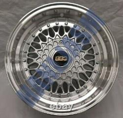 4x New 15 Inch Alloy Wheels Alloys Bbs Rs Rep Ford Escort Cortina Fiesta 4x108