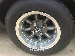 4x108 13 Minilite Wheels Ford Escort Cortina Capri