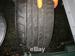 4x108 13 Minilite Wheels & Tyres Ford Escort Cortina Capri Fiesta Mk1 Mk2