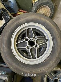5 Ford Escort Rs Alloy Wheels Cortina/ Capri Etc
