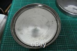 5 chrome classic car wheel trims / hub caps Ford Escort/Cortina MKI MK1 9 1/4