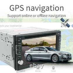 6.2 Double 2Din Car DVD Player Touch Radio Stereo GPS SAT NAV Android 9.0 2+16G