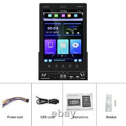 9.5in 2DIN Car Stereo Radio Player Bluetooth FM MP5 Playback Support IOS CarPlay