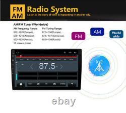 9 Android 8.1 2DIN Quad-Core Car Stereo Radio Player GPS Nav Wifi
