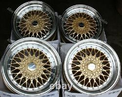 Alloy Wheels 16 RS For Ford B max Cortina Courier Ecosport Escort 4x108 Gold