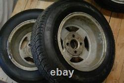 Alloy Wheels Alloys Set For Ford Escort Capri Rs2000 Laser 3.0s H-81eb-aa 13 6j