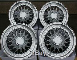 Alloy Wheels X 4 15 Rs Grey For Ford B Max Escort Focus Puma Sierra 4x108