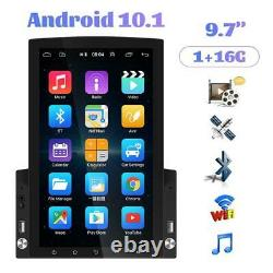 Android 10.0 2Din 9.7 in Car Bluetooth Player Stereo Radio GPS Sat NAV Quad Core