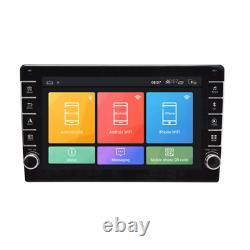 Android 8.1 Double DIN 8in Car Stereo GPS Sat Nav WiFi BT Radio RAM 1GB ROM 16GB