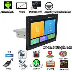 Android 8.1 Head 9 2+32G HD Car Stereo Radio GPS SAT NAV DAB WiFi Bluetooth OBD