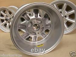 Escort Capri Cortina 8x15 Deep Dish Alloy Wheel Set Jbw Minilight Style, Ford