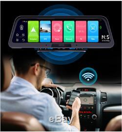 FHD Dash Cam 10 Screen 140° Car DVR Double Driving Recorder Wifi 4G GPS ADAS