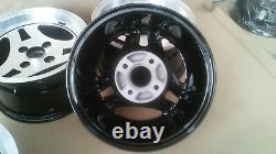 Ford Capri GENUINE ATS 3 SPOKE Rims Escort Cortina Taunus Fiesta Alloys Wheels