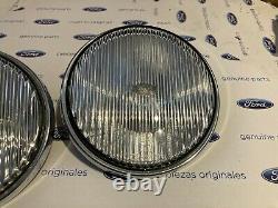 Ford Cortina MK3/4/5/Granada MK1/Escort MK2 New Genuine Ford fog lenses
