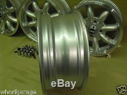 Ford Escort Capri Cortina 6x14 Dish Alloy Wheel Set Jbw Minilight Style 14x6