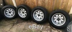 Ford Escort Mk1 Mk2 Deep Dish Steel Wheels, Mexico Rs2000 Cortina Capri Anglia