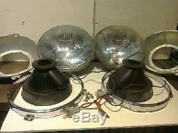 Ford Escort Mk1 Rs Avo Mk2 Cortina Mk3 Classic Mini Headlamps Org Lucas Halogen