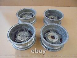 Ford Escort mk1 Wolfrace Alloys set of 4. Also fit Anglia/ Cortina/Capri etc