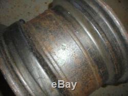 Ford Escort mk2 Banded Steel Wheels. Pair 7.5 x 13. Cortina/ escort