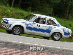 Ford Minilite Style Silver Alloy Wheels 4x108PCD FITSEscort, Capri, Cortina TUV