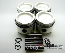 Ford X-Flow / Kent 1600 Std HEPOLITE piston set 4, Escort, Cortina, Formula Ford