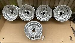 Genuine Fergat 6 Lotus Steel Wheels, Ford Cortina Mk1 Mk2 Escort Anglia 105e