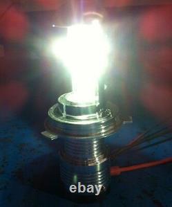 JTX 1pr Ford Cortina Mk1 Mk2 Escort Headlights HID Hi/Lo 7 round lights