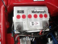 Neu weiße Batterie Ford Escort MK1MK2 Cortina Anglia Taunus Fiesta 54AH