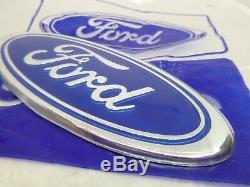 Nos Light Blue Ford Escort Mk2 Mk3 Mk4 Capri Sierra Cortina Cosworth Ford Badge