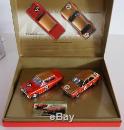 Scalextric Alan Mann Racing Set Ref C2981A Ford Escort + Lotus Cortina
