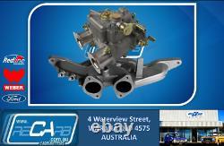 Single 40 DCOE GENUINE WEBER Carburetor Kit suit Ford Cortina Escort 2L Pinto