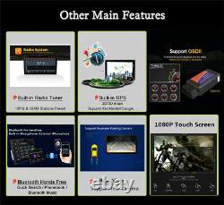 Single Din Android8.1 10 Car Stereo Radio GPS Navigation WiFi DAB Mirror Link