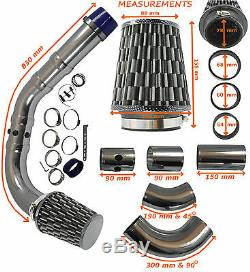 UNIVERSAL FLOW PERFORMANCE COLD AIR FEED INDUCTION INTAKE KIT â Ford 1
