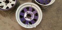 Weller wheels ford fitment 108pcd 13 escort cortina Brisca F2 RS kitcar retro