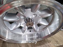 Wheels Minilite 7j 13 Inches Ford Escort Capri Cortina Taunus TC Wheels Felgen